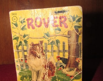 Rover - Tiny Tales book, 1949