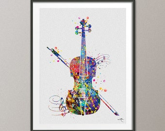 Well known Violin wall art | Etsy DC42