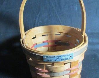 Longaberger Inaugural basket 1989, Honor of President George H W Bush
