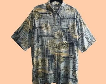 """Camisa 16 de la serie """"Androgynous"""" vintage unisex oversize 90s"""