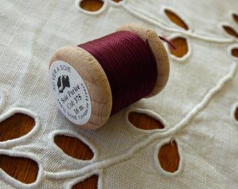 Spool of 16 meters of silk beaded No. 375
