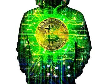 Bitcoin Tech Hoodie | Rave, EDM, Festival Hoodie