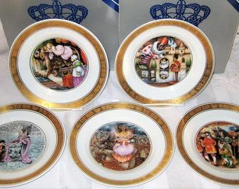 Royal Copenhagen - Hans Christian Andersen - Fairy Tale Plates