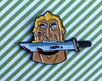 Venture Bros Brock Samson pin