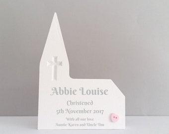 Personalised Christening gift girl, Christening gift for girl, Goddaughter Christening gifts for baby girl, baby Girl christening present