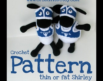 Thin or fat Shirley - a crochet pattern