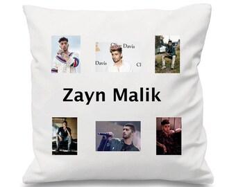 Zayn Malik Cushion, Collage Cushion, Lyrics Cushion, Song Cushion, Music cushion, One Direction Cushion, 1D Cushion