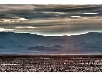 Photons, Death Valley, Desert, Landscape, Travel, Giclée Print, Archival, Photograph, Color