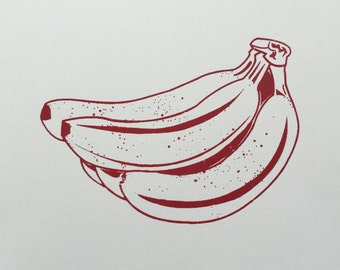 Multi Color Banana Prints