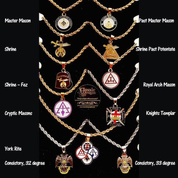 Freemason masonic pendant jewelry shriner aeaonms fez aloadofball Gallery
