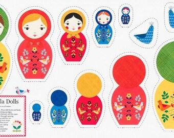 LIttle Kukla Dolls - RK17674205 - Panel