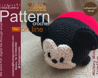 Mickey Mouse Tsum tsum Pattern Crochet