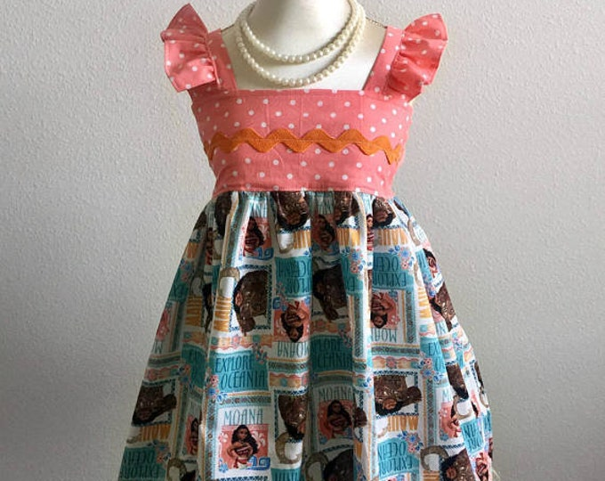 Moana Oceania Hattie Dress