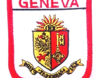 Geneva Embroidered Patch
