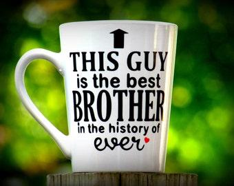 Brother Gift, Big Brother Gift, Little Brother Gift, Brother, Gifts for Brother, Gifts for him, Uncle, Uncle gift, brother mug, bro mug