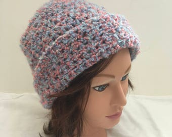 Hand Crocheted Slouchy Hat