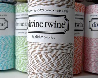 Brown Baker's Twine, Divine, 240 Yards, 720 Feet