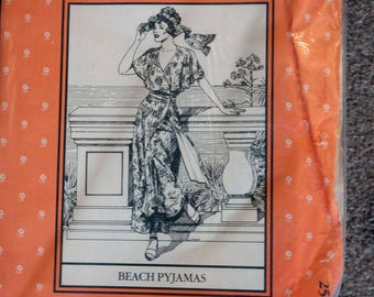 Folkwear Pattern Beach Pajamas #252