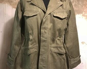 60s French Military Jacket - Womenswear