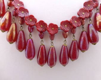 Beautiful Lustre Necklace   REDUCED from 178 to 88