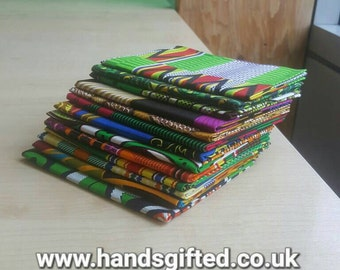 African Print Fat Quarters x 5