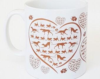 NEW Vizsla mug for dog lovers ceramic cup