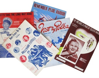 1940s Song Books (5)