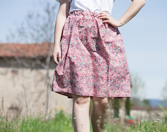 Annecy Rose Skirt
