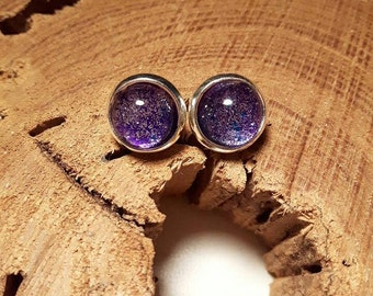 Purple star earrings, Jewelry of the day,Great gift idea, Stud earrings, Christmas gift, Any occasions gift, gift for her