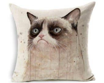 Grumpy Cat Pillow Case