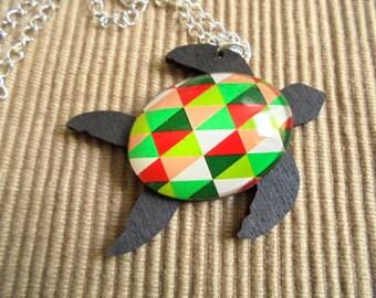 Chain, sea turtle (1787)