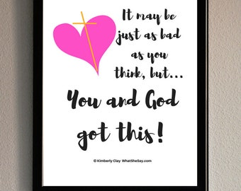 Printable Wall Art, Faith Print, Quote Print, Printable Art, Art Print, Inspirational Print, Printable, Wall Art, Home Decor, Encouragement