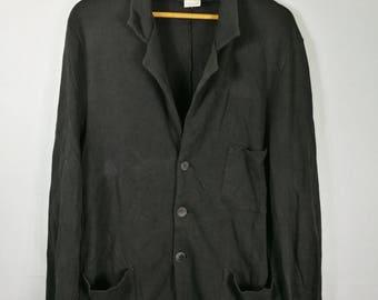 agnes b blazer black