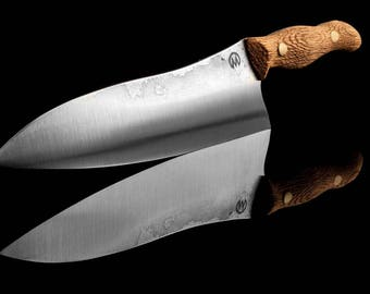 Handmade Kitchen chef knife by Mknives