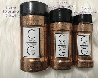 Polyester Glitter - Shaker Jar - Light Copper Penny