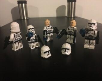 Lego Star Wars Clones Stormtrooper x 5 - combine ship
