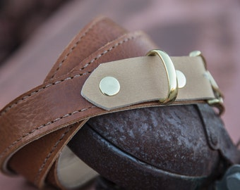 The Nice Leather Belt | Hand-Stitched Leather Belt | Full Grain Leather Belt | Handmade Leather Belt | Designer Belt