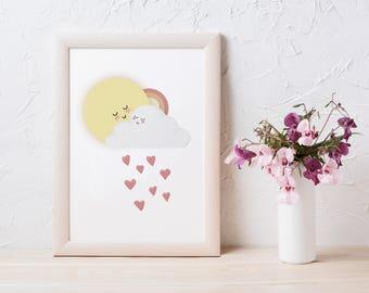 Sun Cloud Love