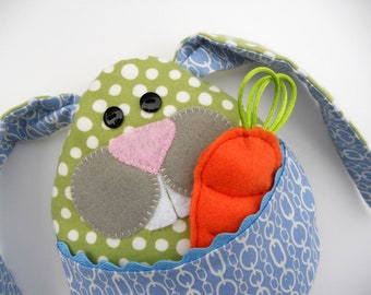 Personal Use PDF Pattern and Instructions for Little Bunny Boo Boo, Rice Bag, Tooth Pillow, Easter Plushie