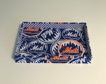 Bac fourre-tout (Rectangle) en NY Mets tissu