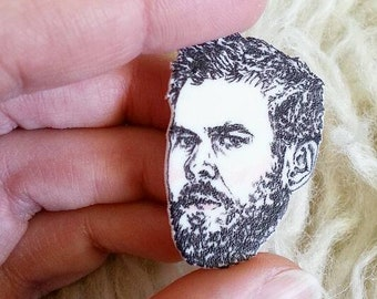 Chris Hemsworth/Thor/Pin/Illustrated Pin