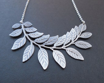 touch of life necklace - antique silver finish