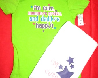 CUTE onesie gift set