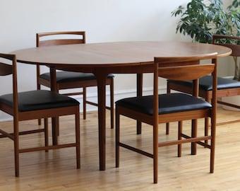 Mid Century Danish Modern Teak McIntosh Dining Set