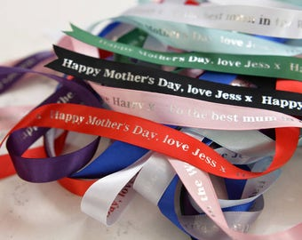 Personalised Mother's Day Ribbon