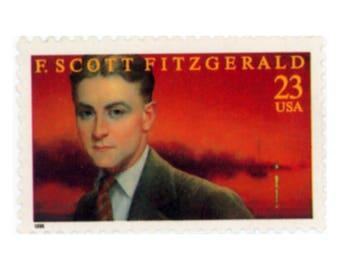 F. Scott Fitzgerald US Postage Stamp