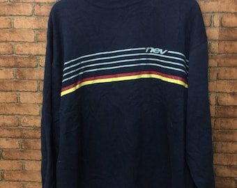 NEV Ideal Shape Long Sleeve 3L Large Size Sweatshirt Same Design Fromter and Back Style