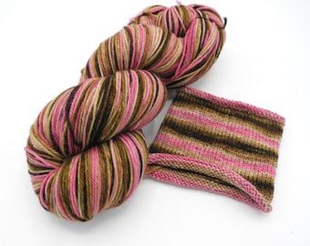 Neapolitan Watercolor Stripes - Self-Striping Sock Yarn Made to Order