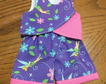 18 inch doll shorts outfit purple doll shorts outfit Easter