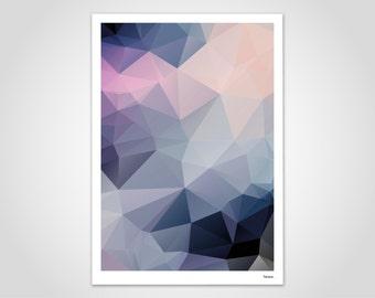 IMA/poster, images, Scandinavian, art, art print, modern, illustration, abstract, geometric, gift, Polygram, Summer, spring